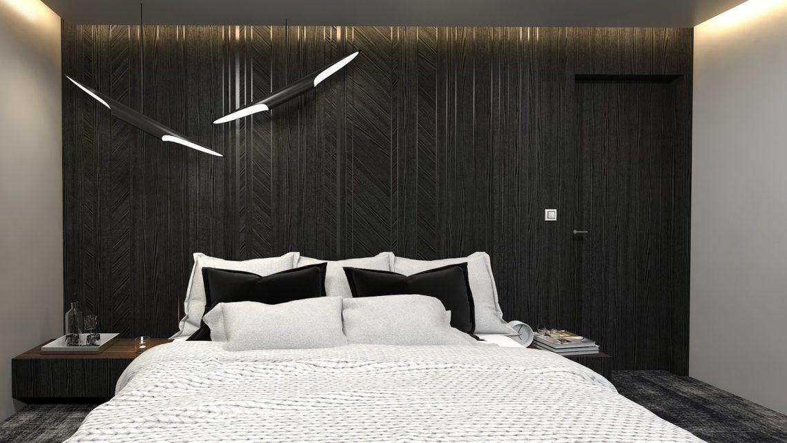 Sypialnia Z Garderoba I Lazienka Dobry Architekt Projektant